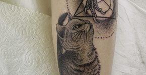 Cat Tattoos Valentin Hirsch