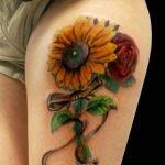 Tatuaje pequeño de una concha