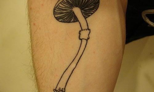 Mushroom tattoos