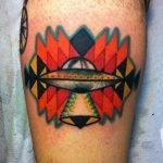 Tatuaje de cámara retro