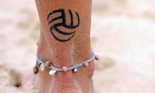 Tatuaje voleyball