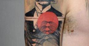 tatuaje retrato por Xoil