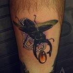 Tatuaje de violín