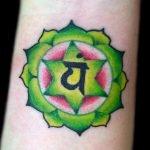 Tatuaje Chakra Ajna