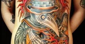 Tatuajes de cuervos (Terror)