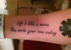 Tatuaje Life's like a movie