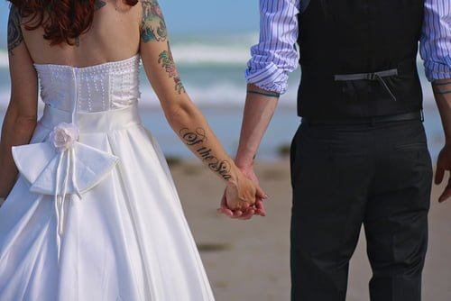 Tatuajes en parejas casadas