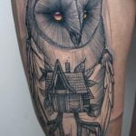 Tatuaje de tigre por Dedo Hangman