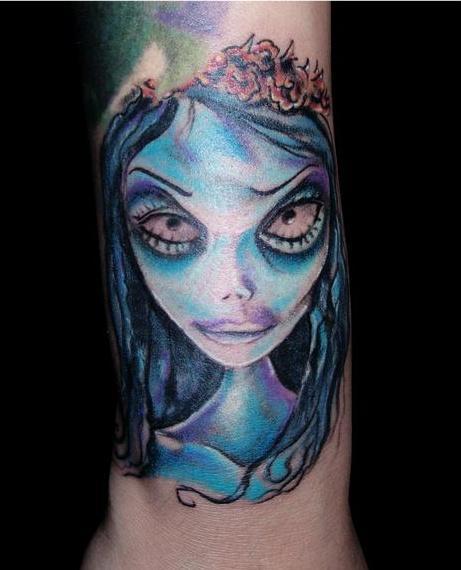 Tatuaje de El Cadáver de la Novia