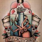 Tatuaje calavera de Los Misfits