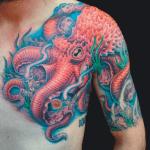 Tatuajes en brazo por Lenad Nada