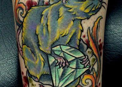 Vladimir Franz: Candidato presidencial tatuado