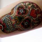 Tatuaje chica Pin up