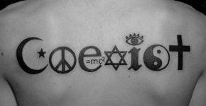 Tatuaje Coexist