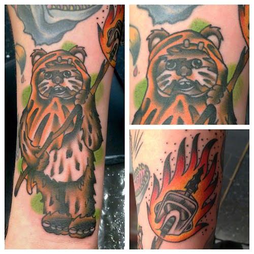 Tatuaje de Ewok