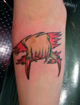Tatuaje Headcrab Half Life