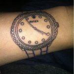 Rolex fail tattoo