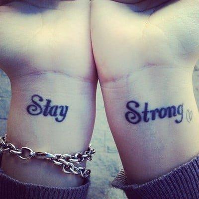 tatuaje stay strong