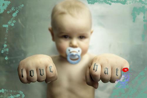 Tatuador desde pequeño