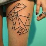 Tatuaje de una flama