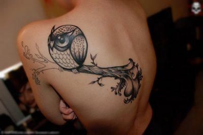 Significado tatuajes de búhos