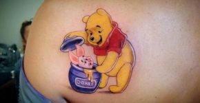 Winnie Pooh Tattoo