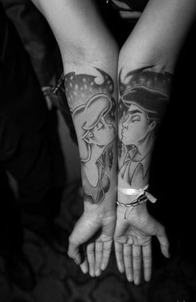 Cute tattoos for couples