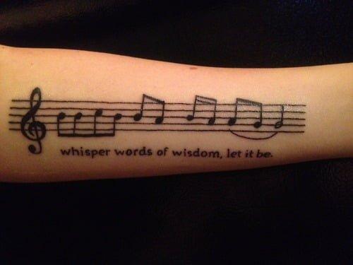 tatuajes musicales Archives - Página 4 de 12 - Tatuajesxd