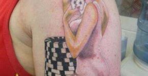 Tatuaje chica Vegas