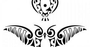 Tatuajes tribales de buhos