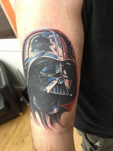Darth Vader Tattoo on arm