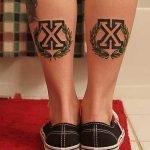 Tatuaje de la parca para hombres
