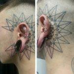 Tatuaje morsa y conejo