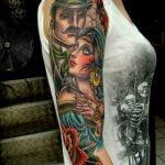 Tatuaje de una daga