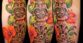 Tatuaje totems Star Wars