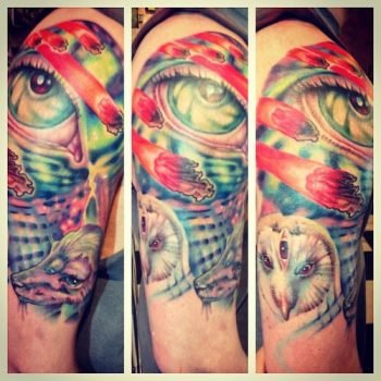 Nick malasto tattoos