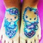Tatuaje de un paraguas para chicas