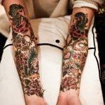 Tatuaje de Bella (Disney) en Zombie