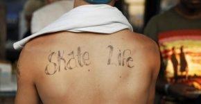 tatuaje skater