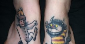 Max and Carol from Where the Wild Things Are