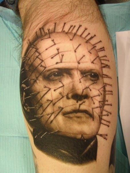 Tatuaje de Pinhead