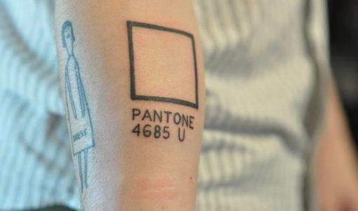 Pantone tattoo (photographers)