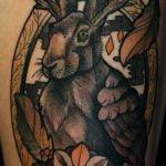 Tatuaje portal (amor geek)