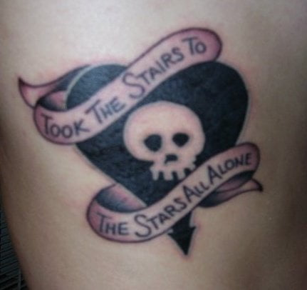 Alkaline Trio tattoos