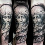 Angel tattoo by Domantas
