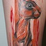 Tatuaje TLOZ en espalda