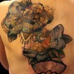 Tatuaje conejo surrealista
