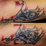 Tatuaje de trébol de tres hojas