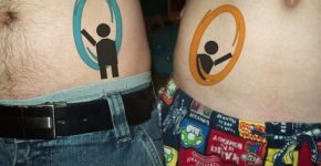 Portal Tattoos for couples