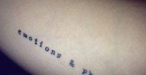 Tatuaje emociones y fotones